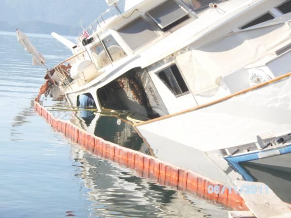 Marmaris Deniz kirliliği takibi