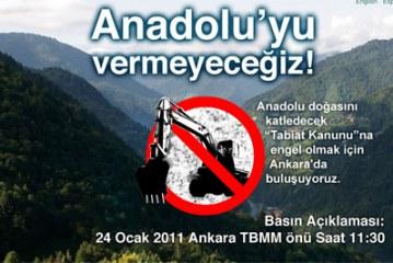 Tabiatın Kanununa Karşı Ankara'da Buluşma