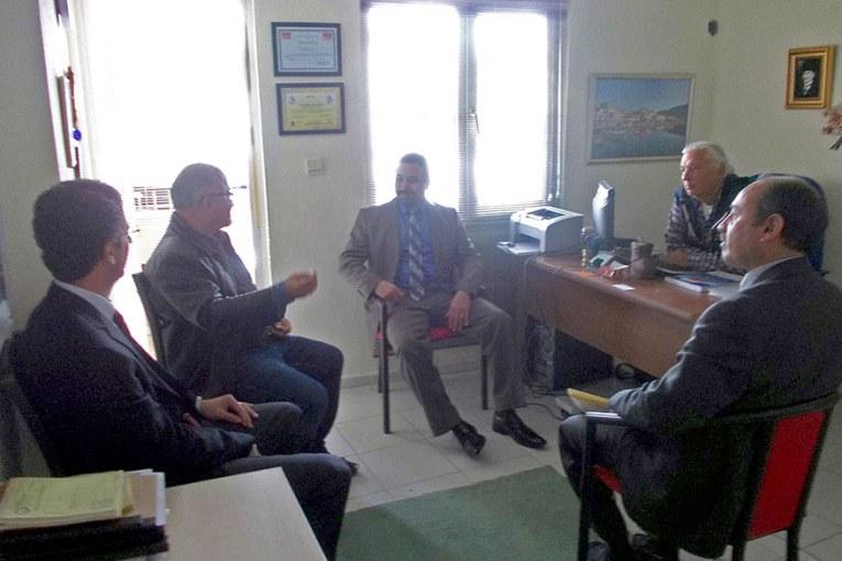 Sıtkı Koçman Üniversitesi ziyareti